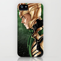 Loki iPhone Case by Natalie Nardozza | Society6