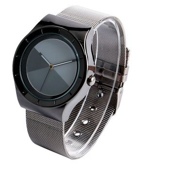 Classic Metal Mesh Minimalist Stylish Watch