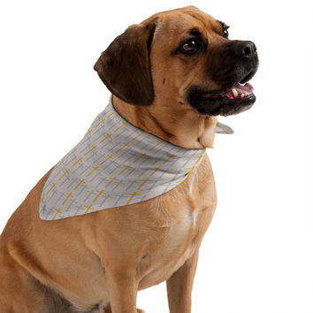 Allyson Johnson Yellow Cross Pet Bandana