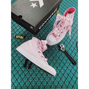 Converse Chucks Sisters All Star Plts Satinpoint OX Pink