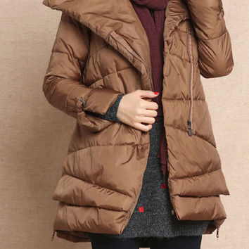 Women winter Coat warm coat Casual Jacket (W