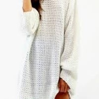 Ari Knit Oversized Boyfriend Sweater