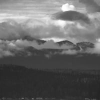 "Black and White Landscape Photography | Landscape | Mountains | ""Afternoon Clouds"""