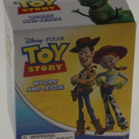 Lot 2 Toy Story Movie Woody Jessie Disney Pixar Mega Mini Kits Figurines Gift