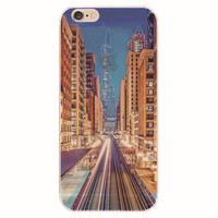Bustling City iPhone 5S 6 6S Plus Case + Gift Box-127