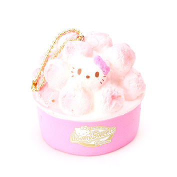 Hello Kitty Squishy: Pink Candy Coated Popcorn