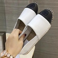 Tory Burch Women Fashion Simple Casual  Loafers  Shoes