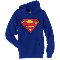 SUPERMAN SHIELD HOODIE DC COMICS (Small)
