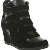 4 Strap Wedge Sneaker | Shop Shoes at Wet Seal