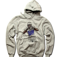 Dez Bryant NFLPA Officially Licensed Dallas Cowboys Hoodie S-3XL Dez Bryant Throw It Up B