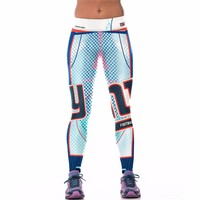 New York Giants Printed Leggings