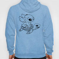 Swimming Stitch Hoody by Alohalani