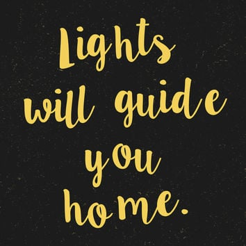 INSTANT DOWNLOAD Coldplay Fix You Lights Will Guide You Home Lyrics Poster 11x14