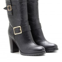 DART LEATHER BOOTS