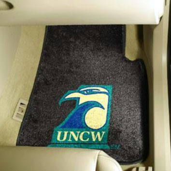 UNC University of North Carolina - Wilmington 2 Piece Front Car Mats