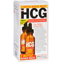 NiGen BioTech The HCG Solution - Bonus Pack - 1 oz - 2 Bottles