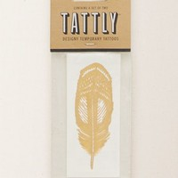 Aerie Women's Tattly Temporary Tattoos (Gold)