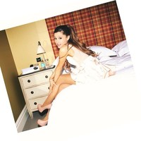.@arianagrande | Photo by my best friend @jonescrow   Btw, sorry I always wear my hair the sam...