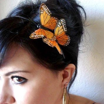 Marissa Monarch Butterflies Headband