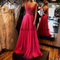 Prom Dresses, Lace Prom Dress, Long Prom Dresses, Prom Formal Dress