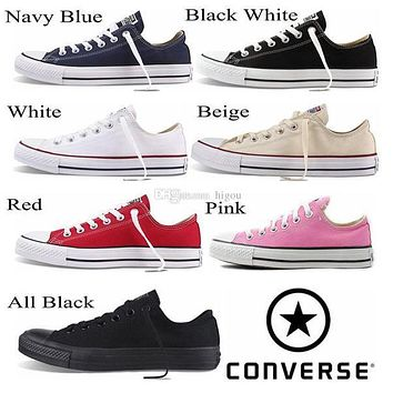 2017 Converse Chuck Tay Lor Shoes For Men Women Brand Converses Sneakers Casual Low To