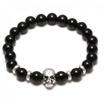 Skull 4 Edition - Agate beads
