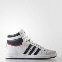 adidas Top Ten Hi Shoes - White | adidas US
