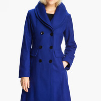 GUESS Double Collar Coat (Online Exclusive) | Nordstrom