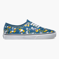 Vans Disney Donald Duck Authentic Shoes Multi  In Sizes