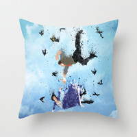 Land of America Throw Pillow by Melissa Smith | Society6