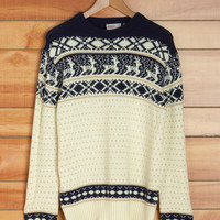 Vintage Be a Deer Men's Sweater | Mod Retro Vintage Vintage Clothes | ModCloth.com