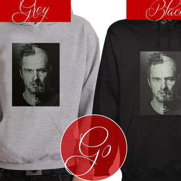 breaking bad Hoodie Sweatshirt Sweater Shirt black and white Unisex
