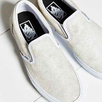 Vans Cracked Leather Slip-On