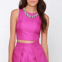 At Daybreak Magenta Two-Piece Set