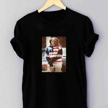 "Lana Del Rey Supreme - T Shirt for man shirt, woman shirt ""NP"""