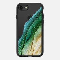 FLAWLESS EMERALD by Monika Strigel iPhone 6 iPhone 7 Hülle by Monika Strigel | Casetify