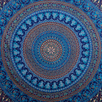 Hippie Tapestries Wall Hanging, Mandala Tapestries, Wall Tapestries, IndianTapestry,  Medallian Tapestries Wall Hanging, Bohemian Tapestries