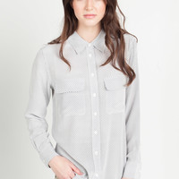 Equipment Slim Signature Shirt in Peacoat