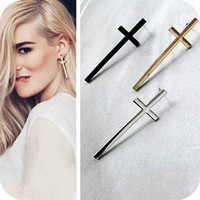 Vixen Boutique — Cross Earrings