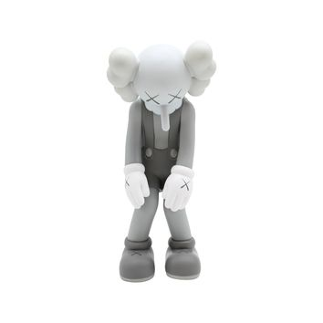 Medicom Toys x KAWS Companion 2017 Small Lies Grey Vinyl Figure