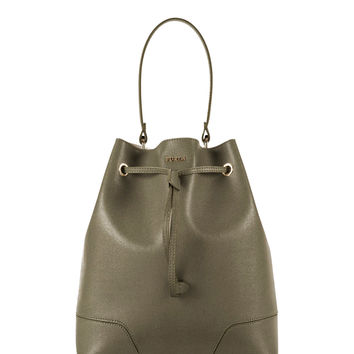 Furla Green Stacy Bucket Bag - ShopBAZAAR