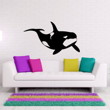 Orca Killer Whale Vinyl Wall Decal Sticker