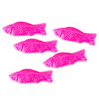 American Fish Chewy Candy - Pink: 5LB Bag