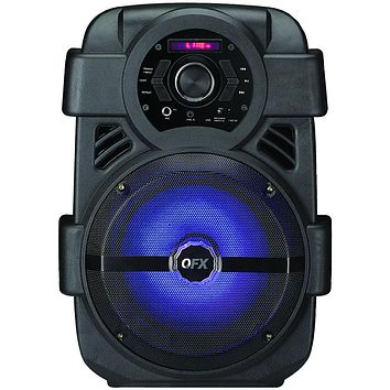 Qfx Rechargeable Bluetooth Party Speaker