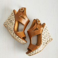 Takes Two to Angle Wedge | Mod Retro Vintage Heels | ModCloth.com