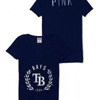 Tampa Bay Rays Fitted V-Neck Tee