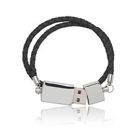 Leather USB Bracelet