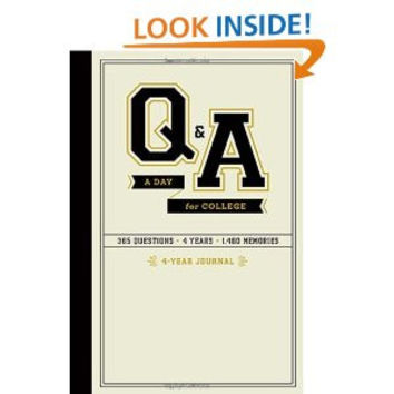 Q&A A DAY FOR COLLEGE: A FOUR YEAR JOURNAL