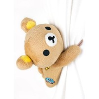 Smile Decor Rilakkuma Bear Curtain Tieback, Holdback, Curtain Accessory, Decoration, Gift Idea (1-pc)