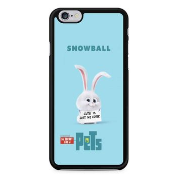 The Secret Life Of Pets Snowball Poster iPhone 6/6s Case